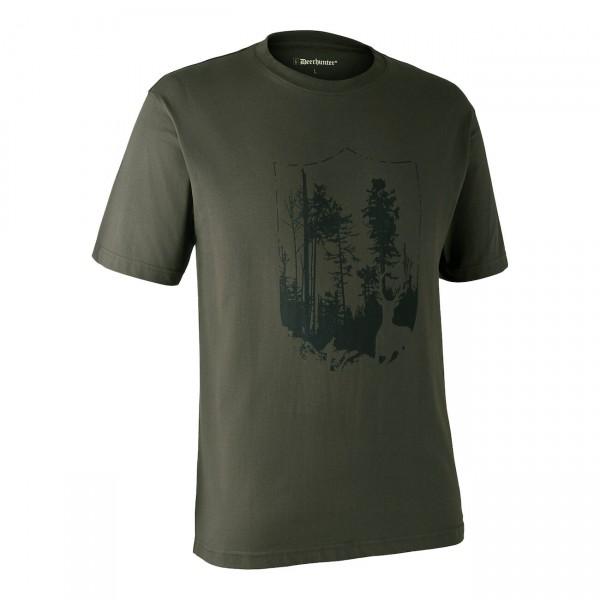 """Deerhunter """"T-Shirt mit Schild"""""""