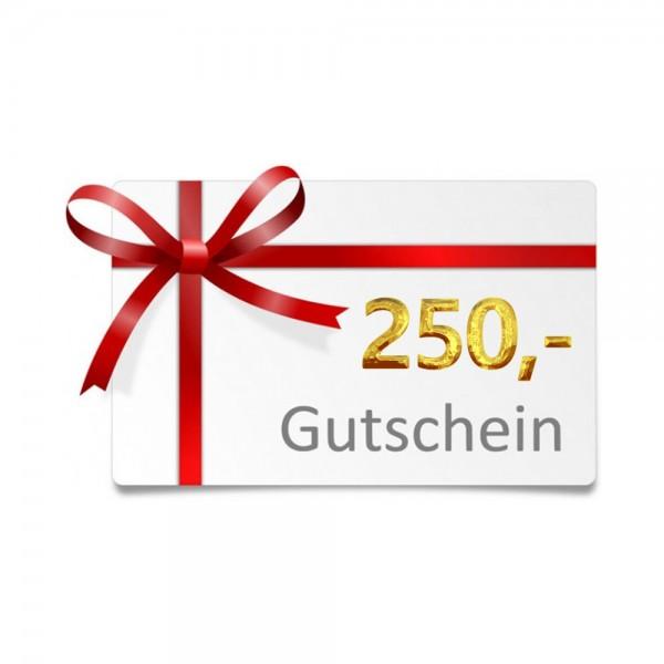 250 EUR - Geschenkgutschein