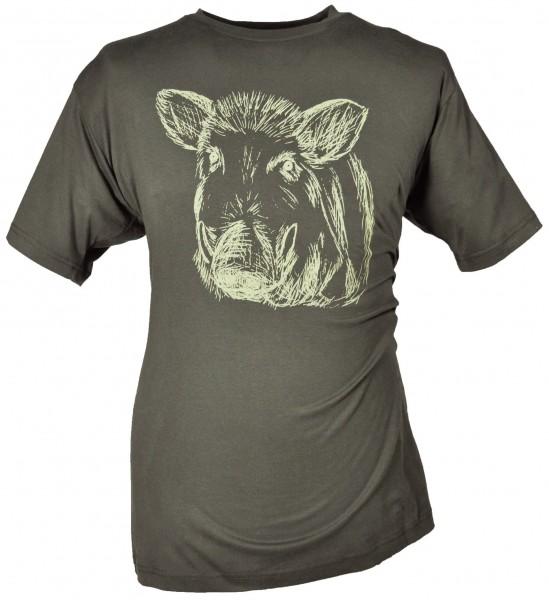 Hubertus T-Shirt Keilerkopf - Bild 2