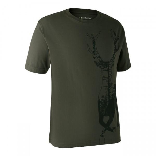 """Deerhunter """"T-Shirt mit Hirsch"""""""