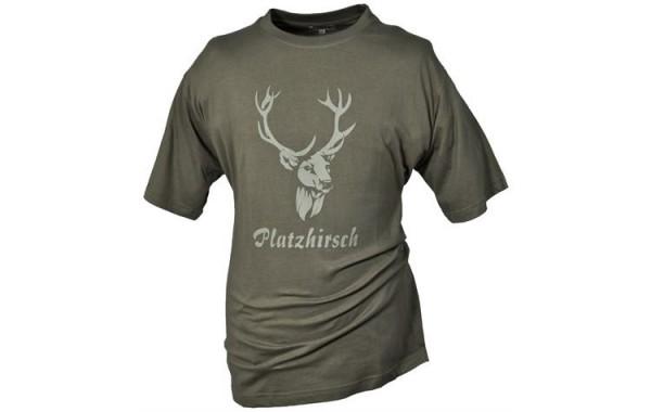 Hubertus T-Shirt Platzhirsch - Bild 1
