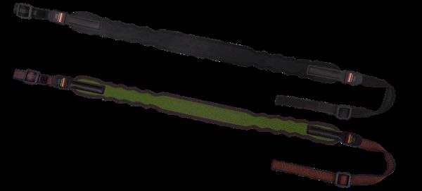 Niggeloh Elegant Gewehrriemen braun mit Schnellverschluss - Bild 2